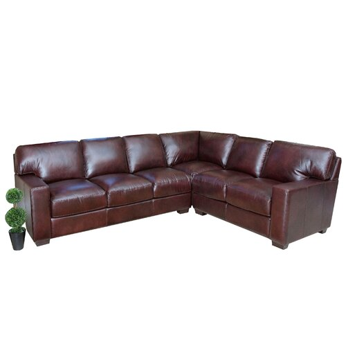 Abbyson Living Vana Sectional Reviews Wayfair