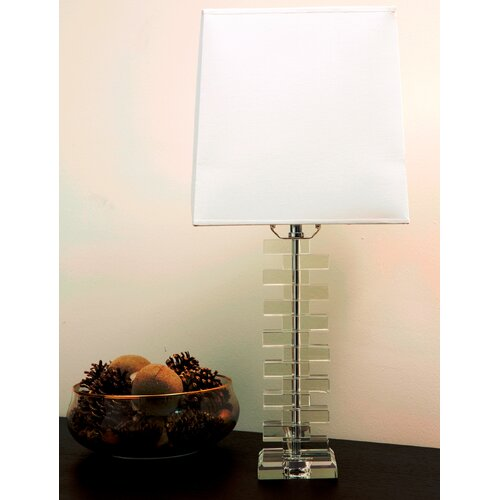 "Abbyson Living Havana 24.5"" H Table Lamp with Drum Shade"