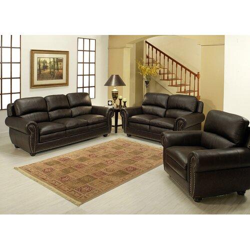 Gail Premium Sofa, Loveseat and Arm Chair Set