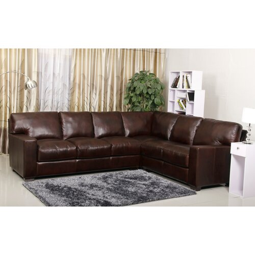 abbyson living vana sectional sofa