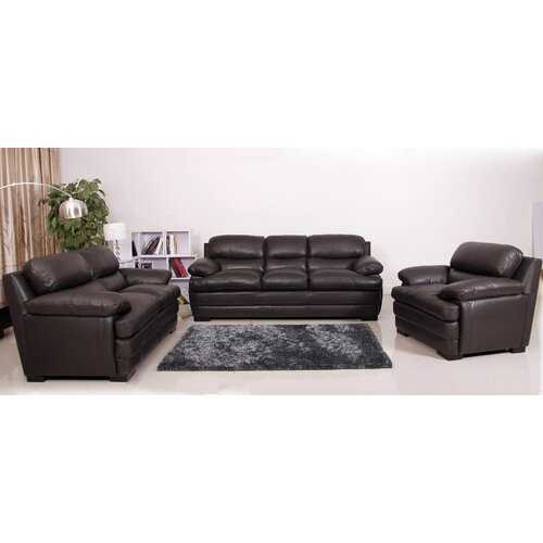 Hano Premium Sofa, Loveseat and Arm Chair Set