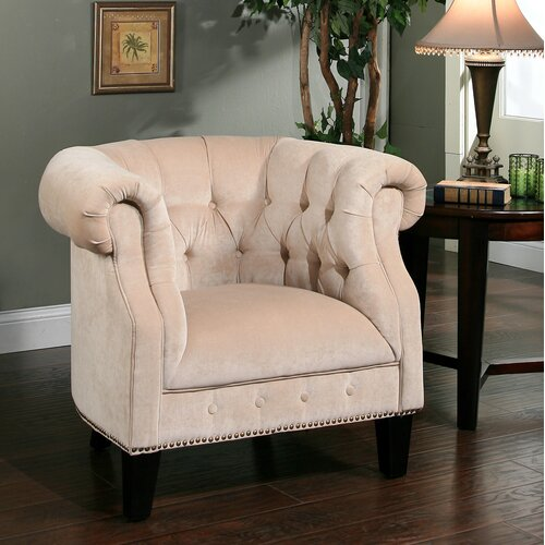 Abbyson Living Bellagio Linen Chair