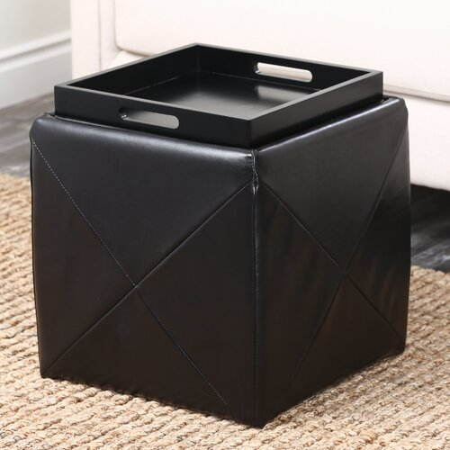 Abbyson Living Bentley Cube Ottoman