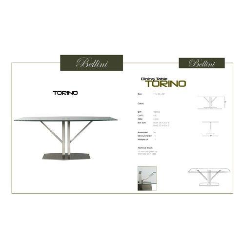 Bellini Modern Living Torino Dining Table