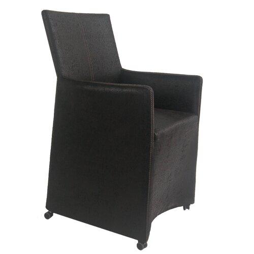 Leno Fabric Arm Chair (Set of 2)