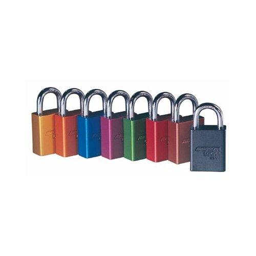 """American Lock Solid Aluminum Padlocks - aluminum padlock - black3"""" shackle"""