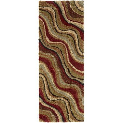 Tayse Rugs Fashion Shag Abstract Rug