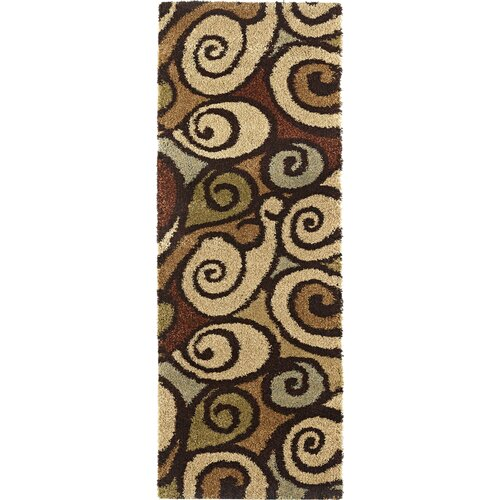 Fashion Shag Abstract Rug