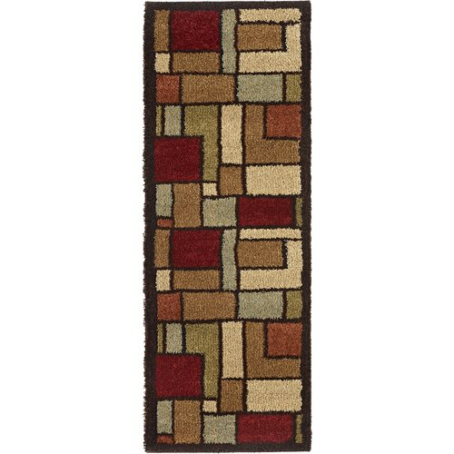 Fashion Shag Geometric Rug