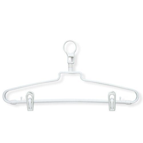 Honey Can Do 72 Pack Hotel Hanger in White