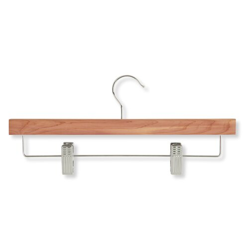 Eight Pack Skirt and Pant Hanger in Cedar