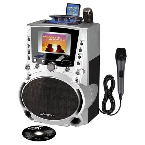 Emerson Karaoke Portable CDG / MP3G Karaoke System