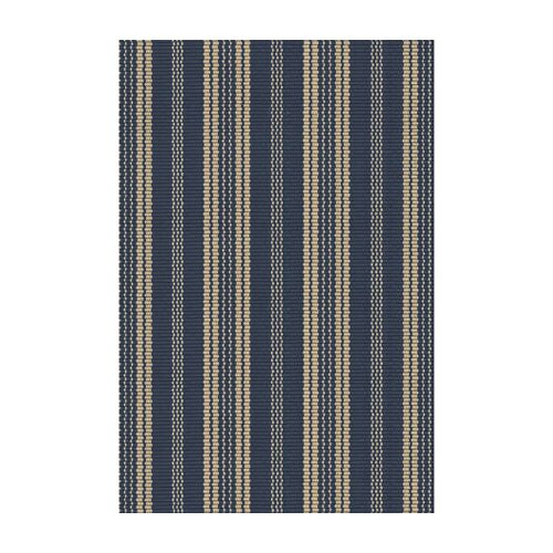 Dash and Albert Rugs Woven Otis Navy Indoor/Outdoor Rug