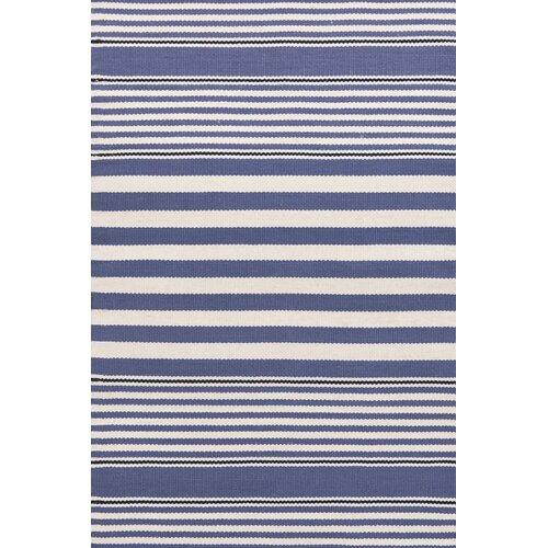 Indoor/Outdoor Beckham Denim Striped Rug