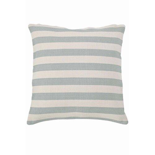 Dash and Albert Rugs Fresh American Trimaran Stripe Polypropylene Pillow