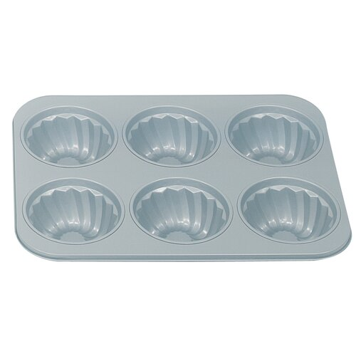Fox Run Craftsmen Non-Stick 6 Cup Fluted Muffin Pan