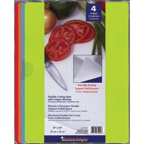 Fox Run Craftsmen Non-Skid Cutting Board Mats (Pack of 4)