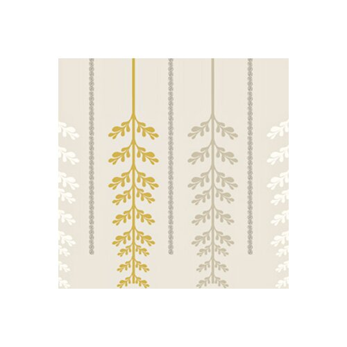 Kreme LLC Handcrafted Ferns Wallpaper