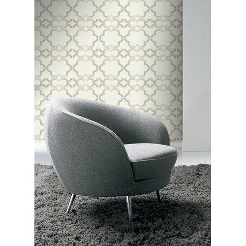 Kreme LLC Handcrafted Acorn Gate Geometric Wallpaper
