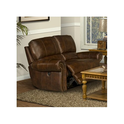 Thor Leather Reclining Loveseat