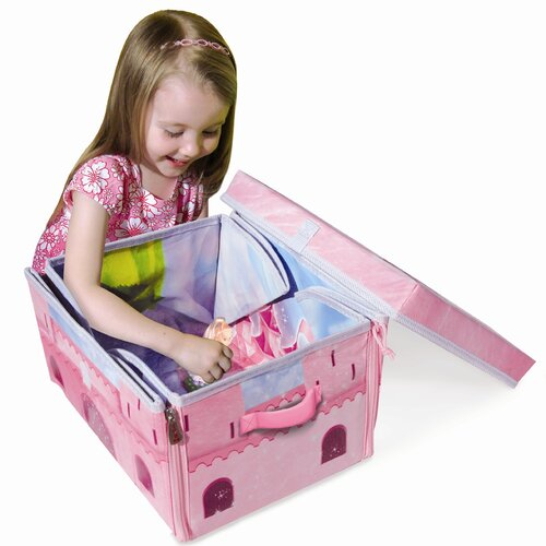 ZipBin Fairy Castle Small Play Set