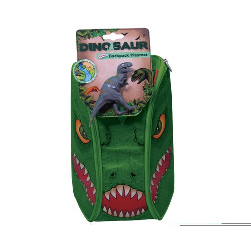 ZipBin Dinosaur Bring Along Backpack