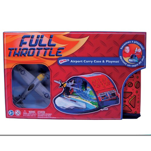 ZipBin Full Throttle™ Airport Tote Playset