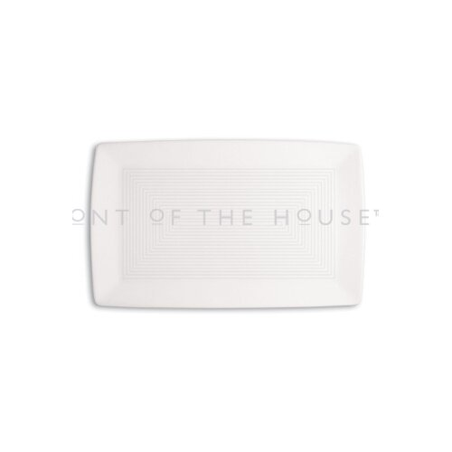 """Front Of The House Spiral 11"""" x 7"""" Rectangle Plate"""