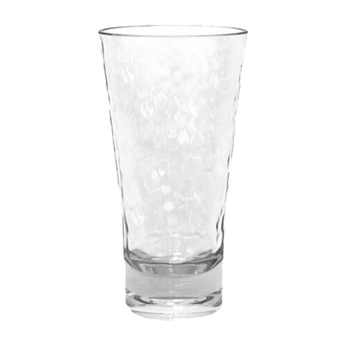 Drinkwise Hammered Highball Glass