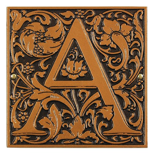 Whitehall Products Cloister Monogram Wall Décor