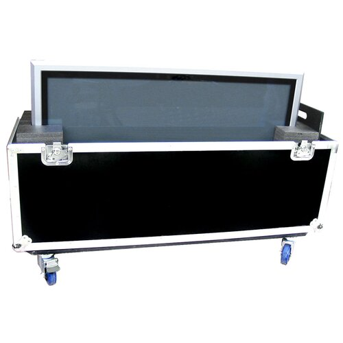 """Road Ready Cases 42"""" Universal Plasma Monitor Case with Casters"""