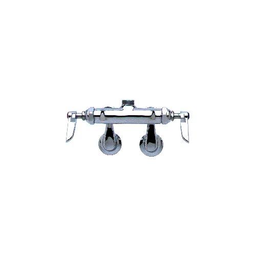 Deck Mount Centerset Faucets with Swing Gooseneck Spout