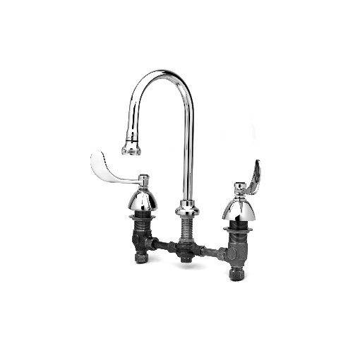 Widespread Medical Bathroom Faucet with Double Handles