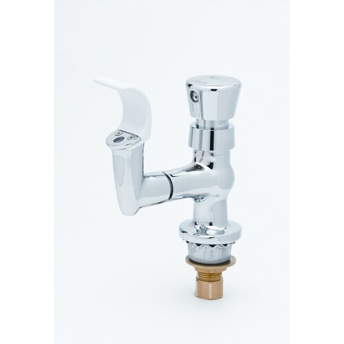 Push Button Metering Handle with Bubbler