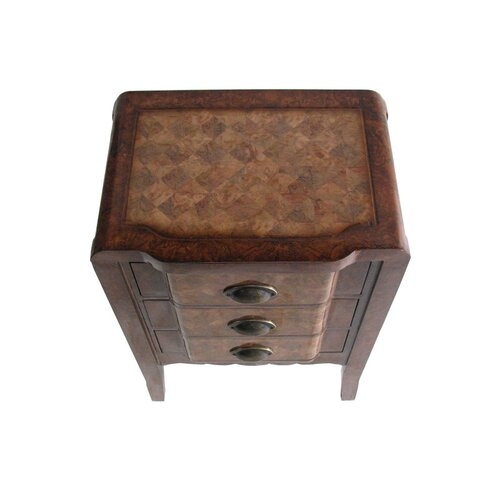 Cheungs Wooden 3 Drawer Chest