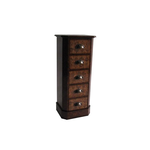Cheungs 5 Drawer Tall Storage Chest