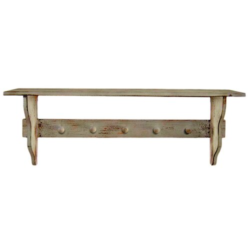 Cheungs Shabby Elegance 2 Tiered Coat Rack