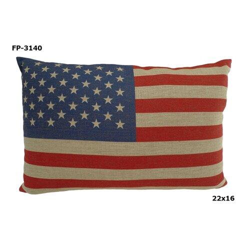 USA Rectangular Flag Pillow