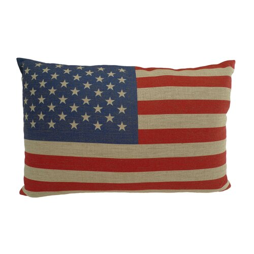USA Rectangular Flag Pillow