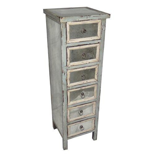 Dirty Kitchen Drawer: Cheungs Dirty Mirror 6 Drawer Chest & Reviews
