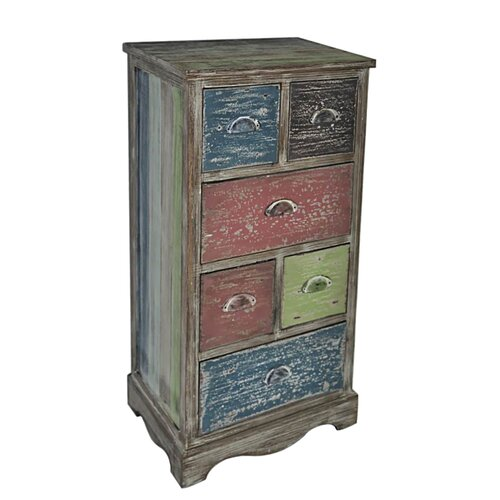 Cheungs 6 Drawer Cabinet