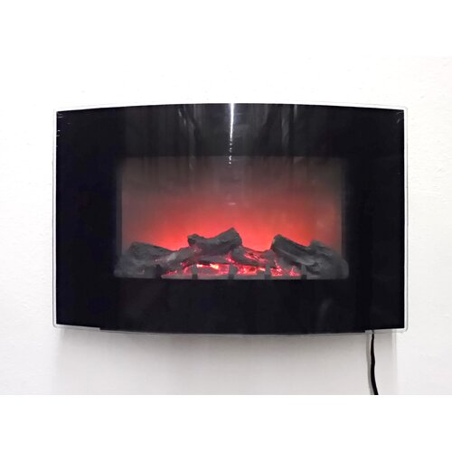 Aspen Flame Wall Mount Electric Fireplace