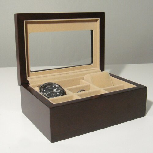 Proman Products Bellissimo Palermo Watch Cufflink Box