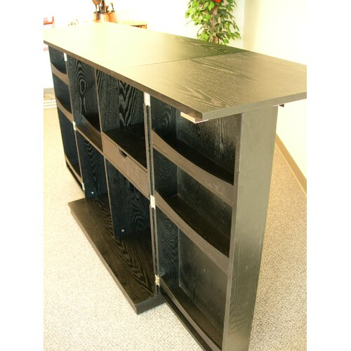 Proman Products California Fold-A-Way Bar Cabinet