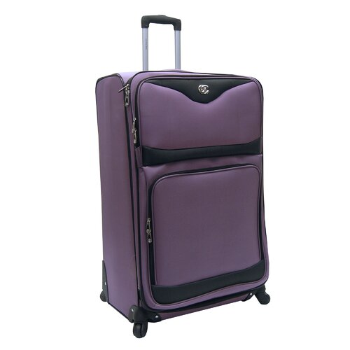 "Oleg Cassini Estate 32"" Expandable Spinner Suitcase"