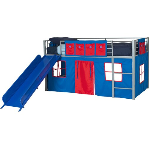 DHP Curtain Set for Loft Bed & Reviews | Wayfair