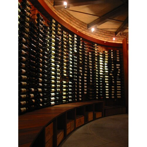VintageView 18 Bottle Wall Mounted Wine Rack