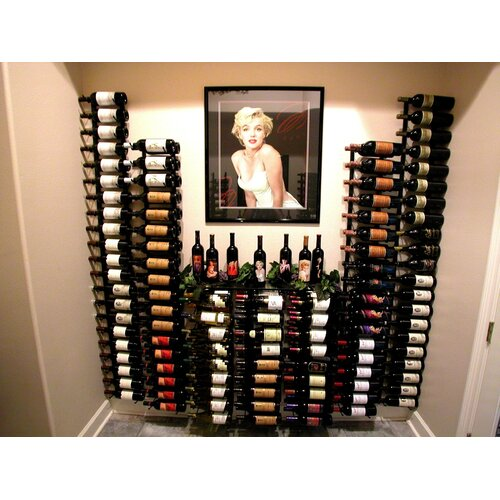 VintageView 27 Bottle Wall Mounted Wine Rack