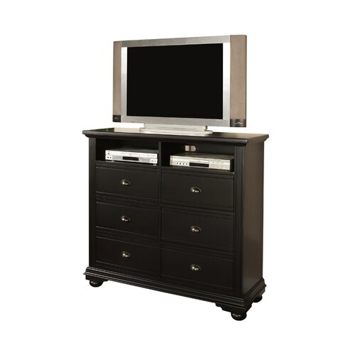 Greystone Aden 6 Drawer Media Chest