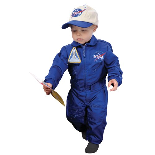 Aeromax Flight Suit with Embroidered Cap for 18 Months Costume